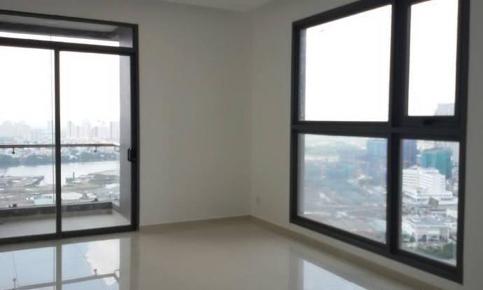 Cho thuê căn hộ Pearl Plaza 3 phòng ngủ view thành phố tầng 18 không nội thất