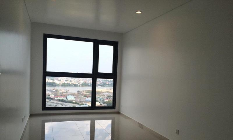 Căn hộ Pearl Plaza Bình Thạnh cho thuê 1 phòng ngủ view sông lầu 17 nhà trống
