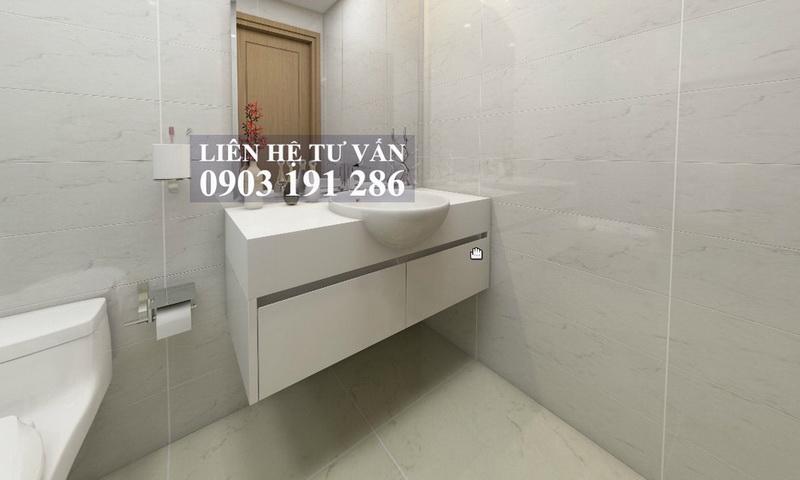 Căn hộ cho thuê Sunwah Pearl tầng 11 toà B2 nội thất full 2 phòng ngủ view hồ bơi