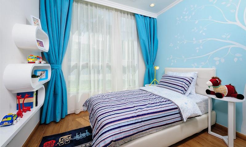 Căn hộ cho thuê Sunwah Pearl tầng 36 block B2 full nội thất 2 phòng ngủ view hồ bơi
