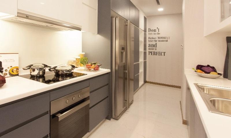 Sunwah Pearl Binh Thanh cho thue tầng 24 toà B3 có nội thất 2 phòng ngủ view sông
