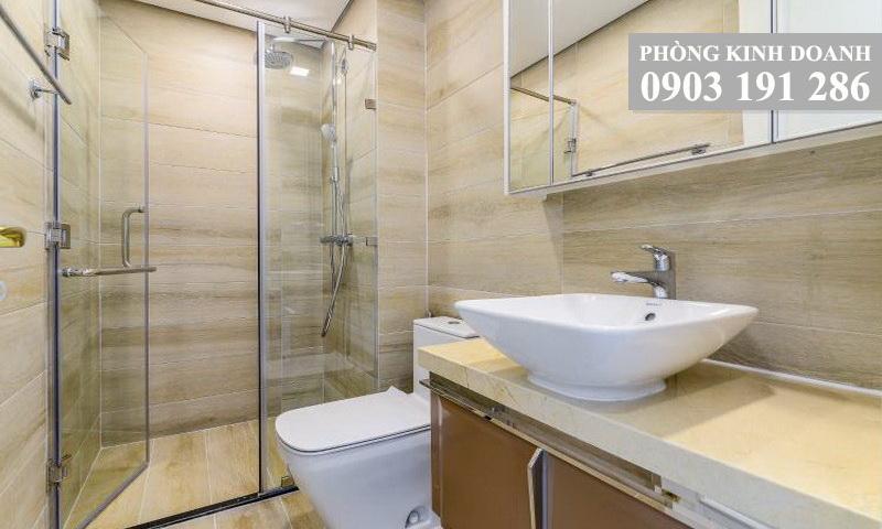 Cho thuê căn hộ Sunwah Pearl tầng 42 tháp B1 không nội thất 2 phòng ngủ view quận 1