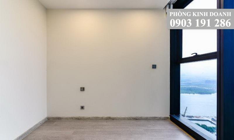 Căn hộ Sunwah Pearl cho thuê lầu 17 block B3 nội thất cơ bản 3 phòng ngủ view hồ bơi
