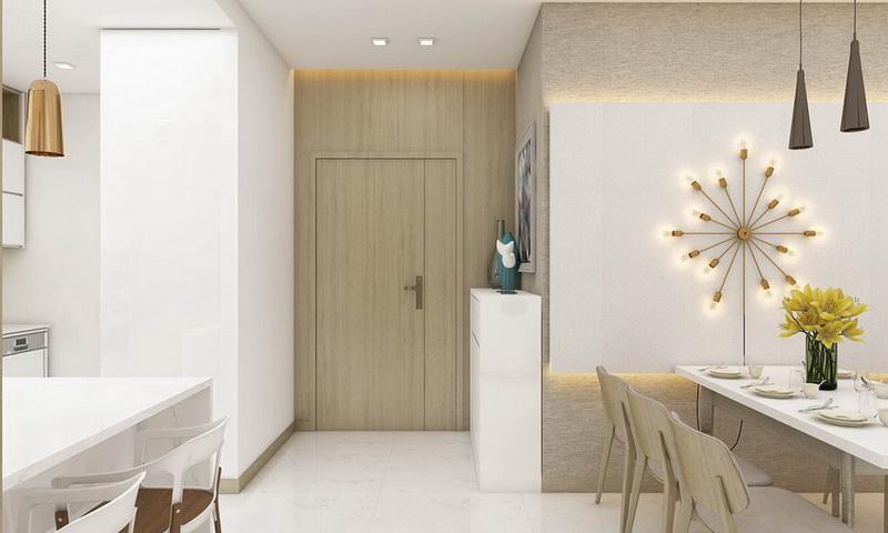Cho thuê Sunwah Pearl tầng 32 tháp B1 có nội thất 2 phòng ngủ view quận 1