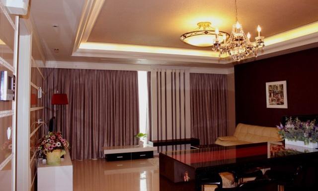Căn hộ Cantavil Hoàn Cầu cho thuê view thoáng 3 phòng ngủ lầu 14 nội thất xịn
