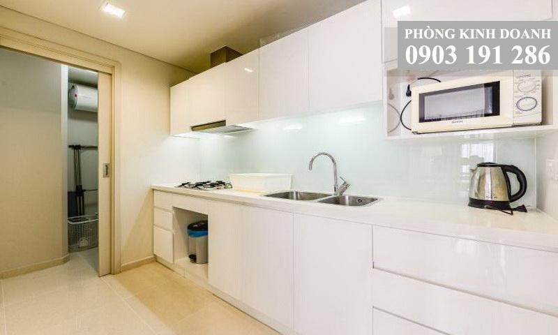 Cho thuê căn hộ 1 phòng ngủ City Garden tầng 14 block B1 full nội thất view quận 1