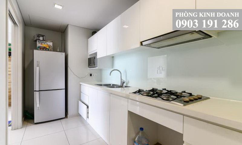 Cho thuê căn hộ City Garden tầng 7 toà B2 nội thất xịn view hồ bơi 1 phòng ngủ