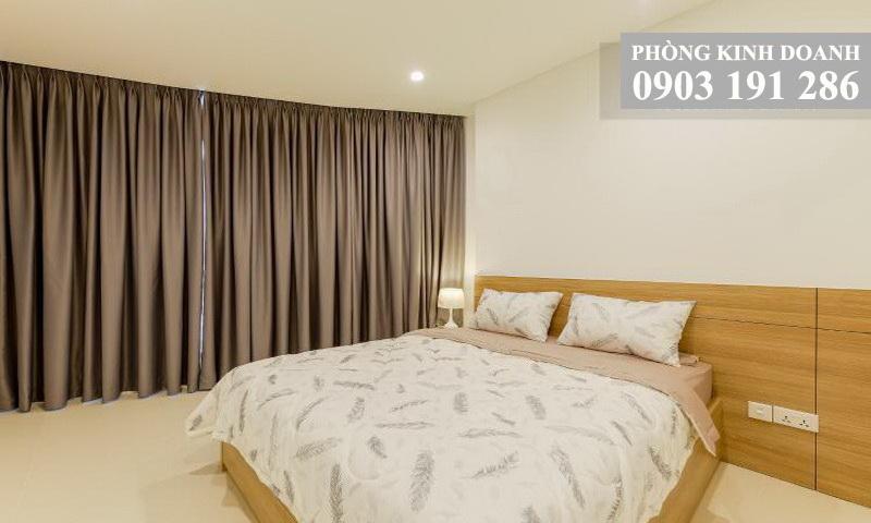 Căn hộ City Garden 2 phòng ngủ cho thuê tầng 15 tháp C nội thất view quận 1