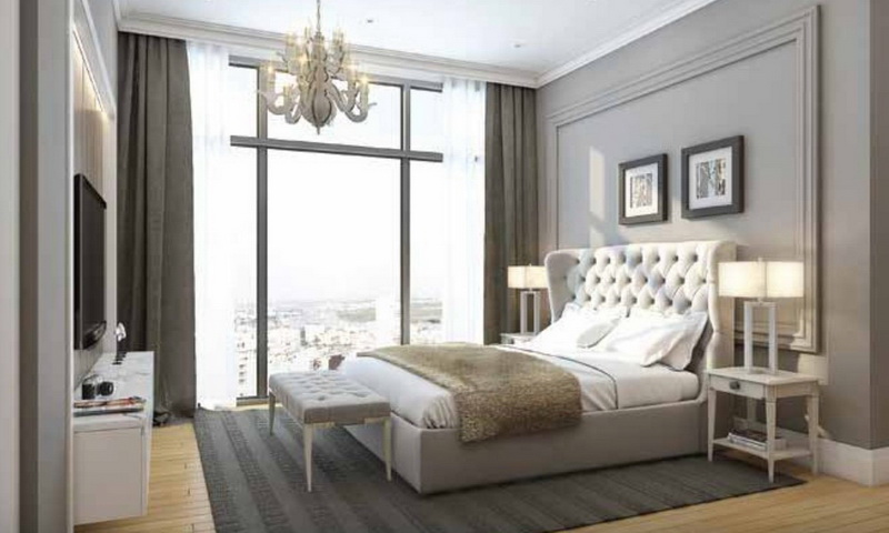 Cho thuê Feliz En Vista quận 2 tầng 5 tháp Cruz đủ nội thất 1 phòng ngủ thoáng