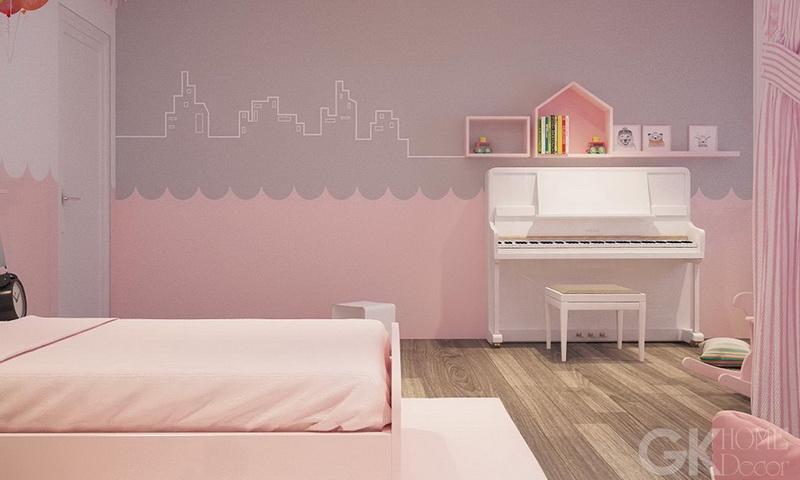 Cho thuê căn hộ Feliz En Vista lầu 16 block Cruz đầy đủ nội thất 2 phòng ngủ