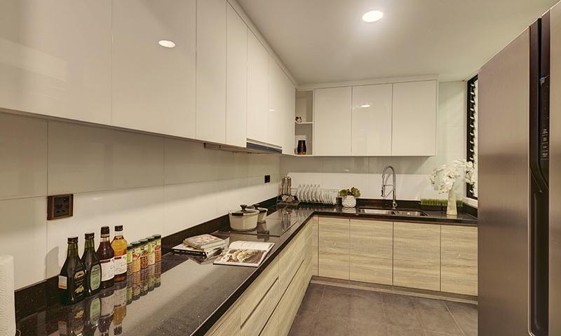 Căn hộ Feliz En Vista cho thuê lầu 27 toà Cruz nội thất đầy đủ 3 phòng ngủ thoáng