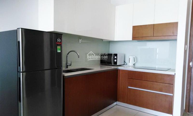 Căn hộ Pearl Plaza Bình Thạnh cho thuê 1 phòng ngủ view sông lầu 16 nội thất full