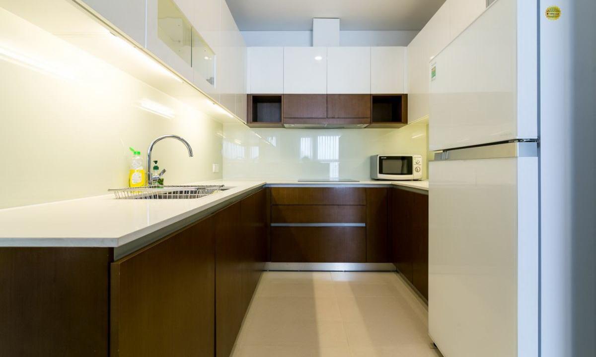 Cho thuê Pearl Plaza Bình Thạnh 2 phòng ngủ view sông tầng 27 đầy đủ nội thất