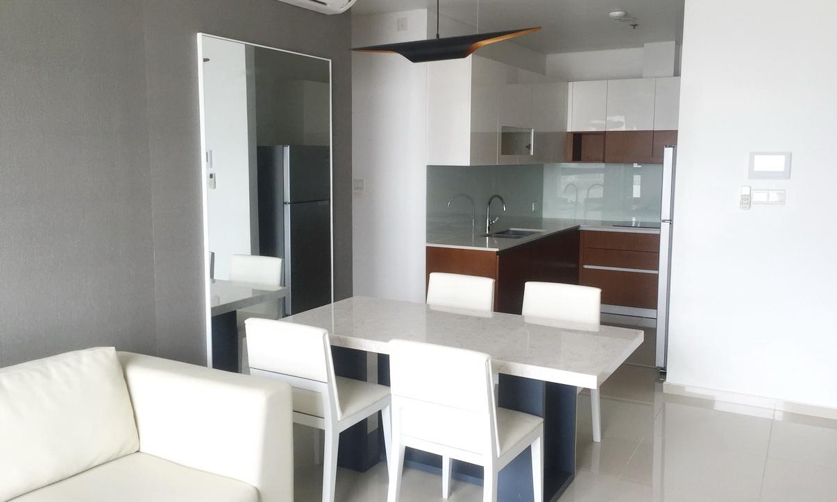 Cho thuê Pearl Plaza Bình Thạnh 2 phòng ngủ view sông tầng 11 đầy đủ nội thất