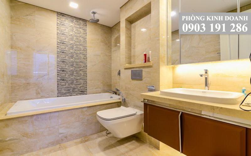Vinhomes Golden River cho thuê tầng 18 Aqua 2 nội thất đẹp 3 phòng ngủ view L81