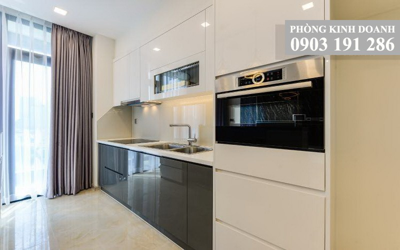Vinhomes Golden River cho thuê lầu 17 A3 nội thất cao cấp 3 phòng ngủ view L81
