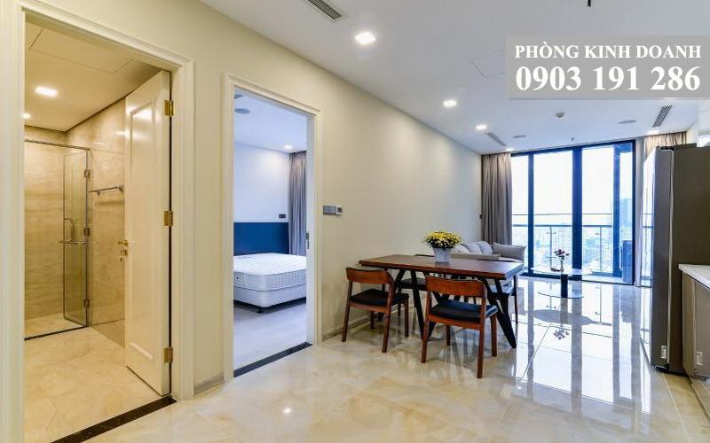 Vinhomes Golden River Ba Son cho thuê tầng 30 A3 nhà đẹp 1 phòng ngủ thoáng