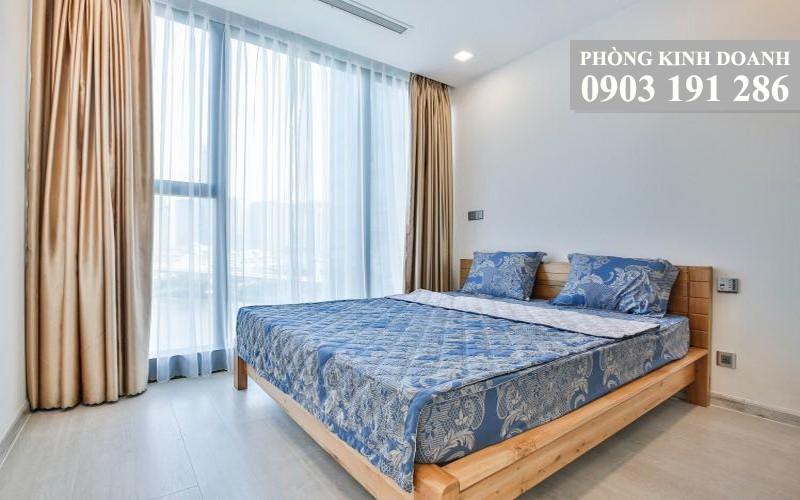 Căn Vinhomes Golden River cho thuê lầu 10 block Aqua 3 nội thất xịn 2 phòng ngủ
