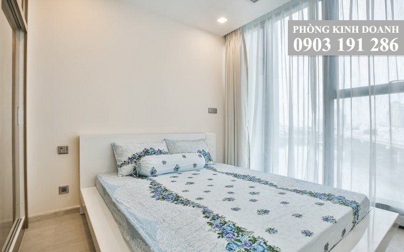 Vinhomes Golden River cho thuê tầng 10 Aqua 4 nhà trống 1 phòng ngủ view L81