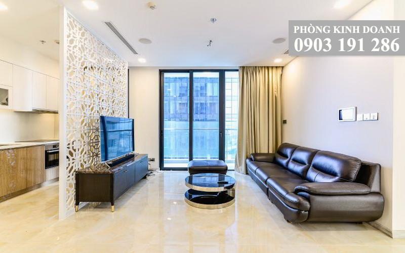 Vinhomes Golden River cho thuê căn tầng 15 tháp Aqua 4 đủ nội thất 3 phòng ngủ