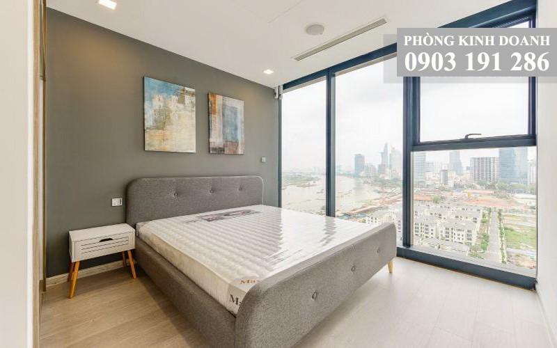 Vinhomes Golden River cho thuê tầng 18 A2 nội thất đẹp 2 phòng ngủ view quận 1