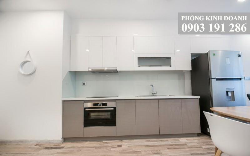 Cho thuê căn hộ Vinhomes Golden River A2 nội thất full 1 phòng ngủ view sông