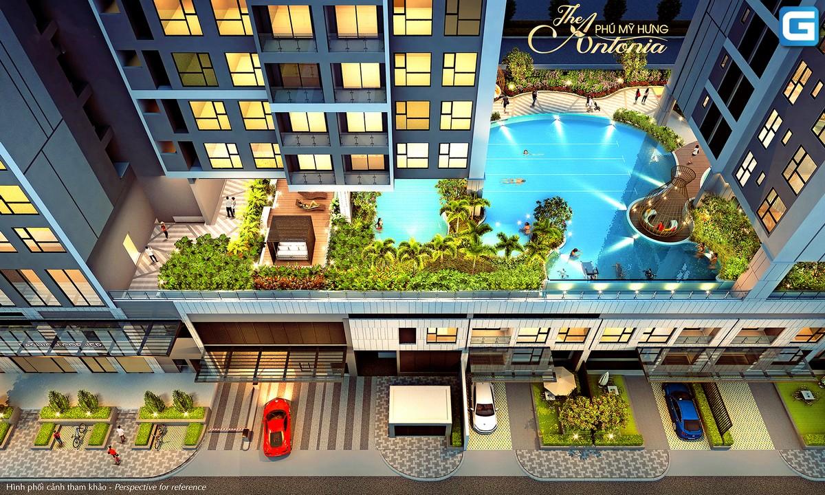 dự án căn hộ The Antonia Phú Mỹ Hưng