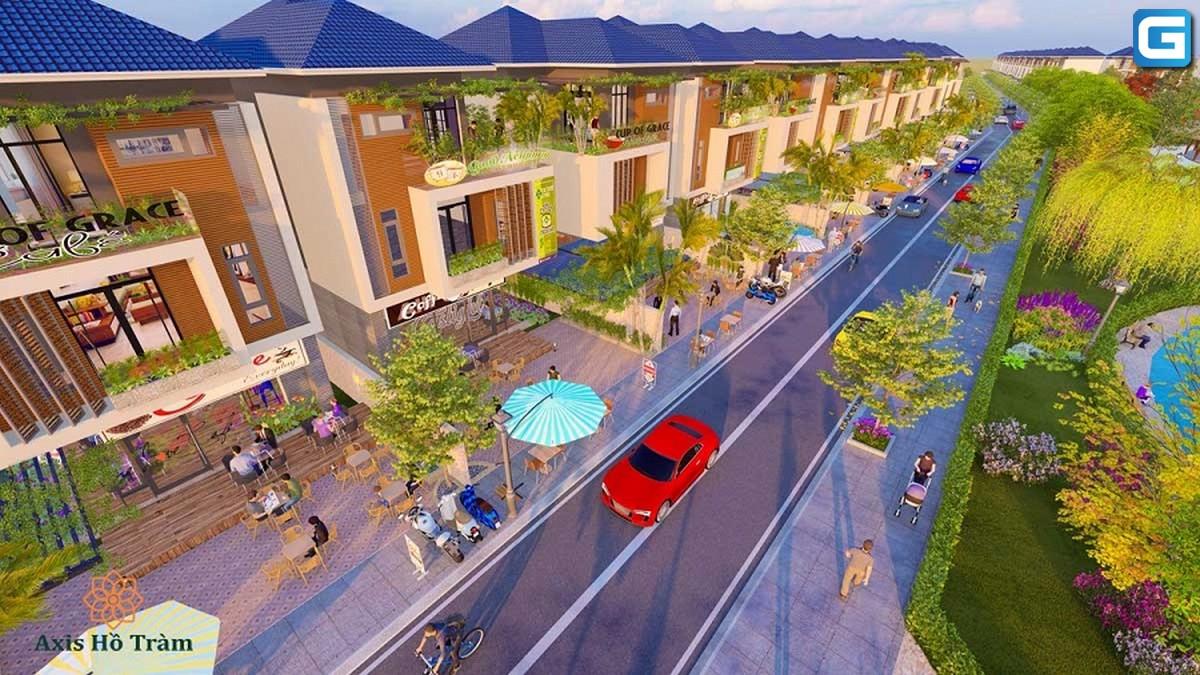 dự án Axis Hồ Tràm