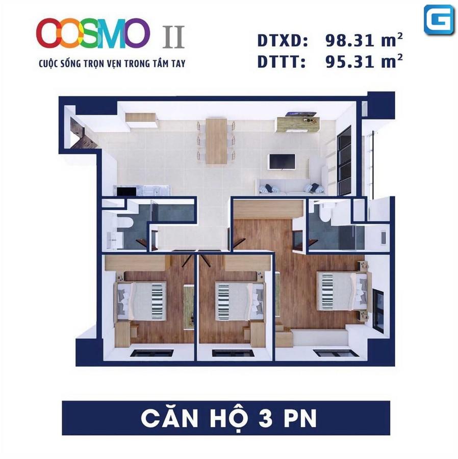 dự án căn hộ Cosmo City Nguyễn Thị Thập Quận 7