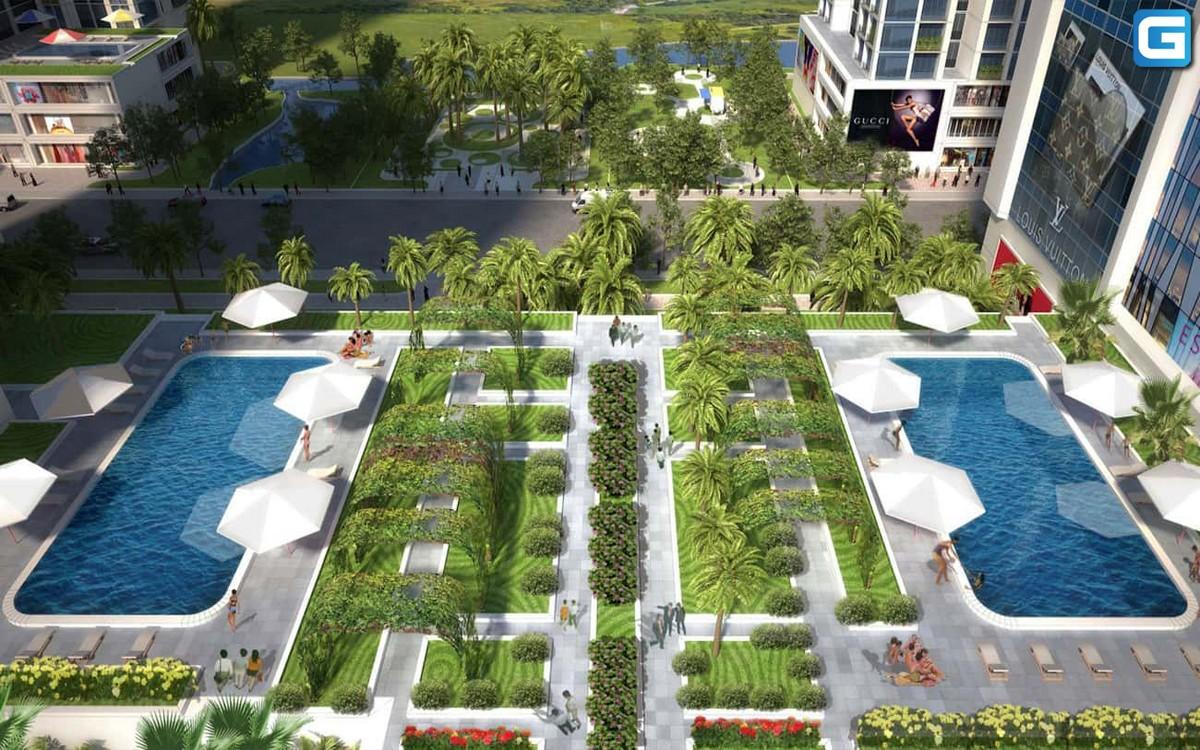 dự án căn hộ Babylon Garden phú mỹ hưng
