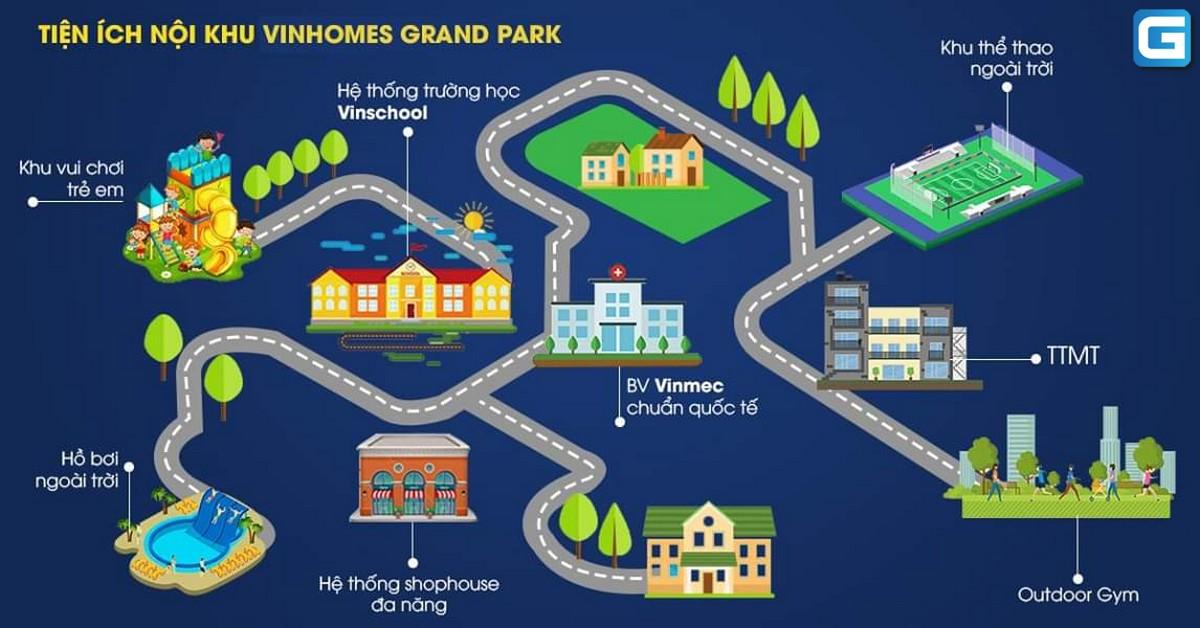 dự án căn hộ Vinhomes Grand Park Nguyễn Xiển Quận 9