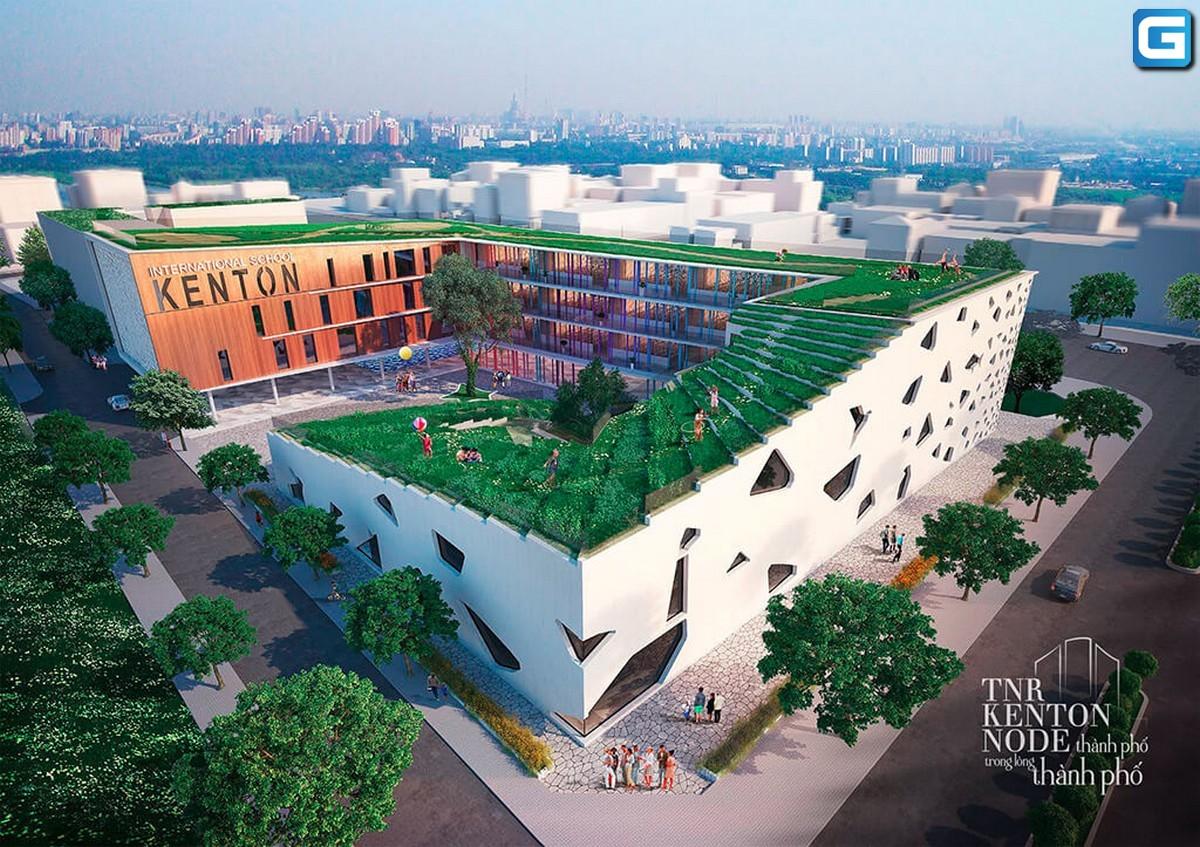 dự án căn hộ Kenton Node Nhà Bè