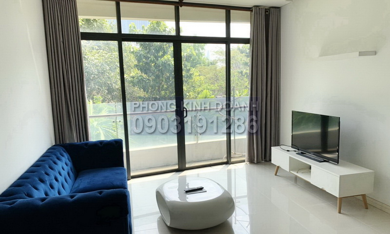 Cho thuê căn hộ City Garden lầu 2 block A nội thất cao cấp 1 phòng ngủ