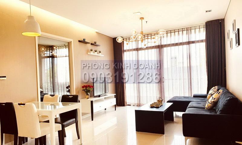 City Garden cho thuê tầng 3 toà B1 có nội thất view nội khu căn hộ 1 phòng ngủ