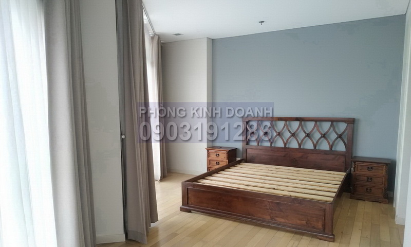 City Garden Bình Thạnh cho thuê tầng 29 toà B1 đủ nội thất view quận 1 3 phòng ngủ