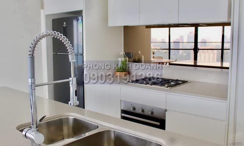 Căn hộ City Garden cho thuê tầng 27 block P1 đủ nội thất view quận 1 2 phòng ngủ