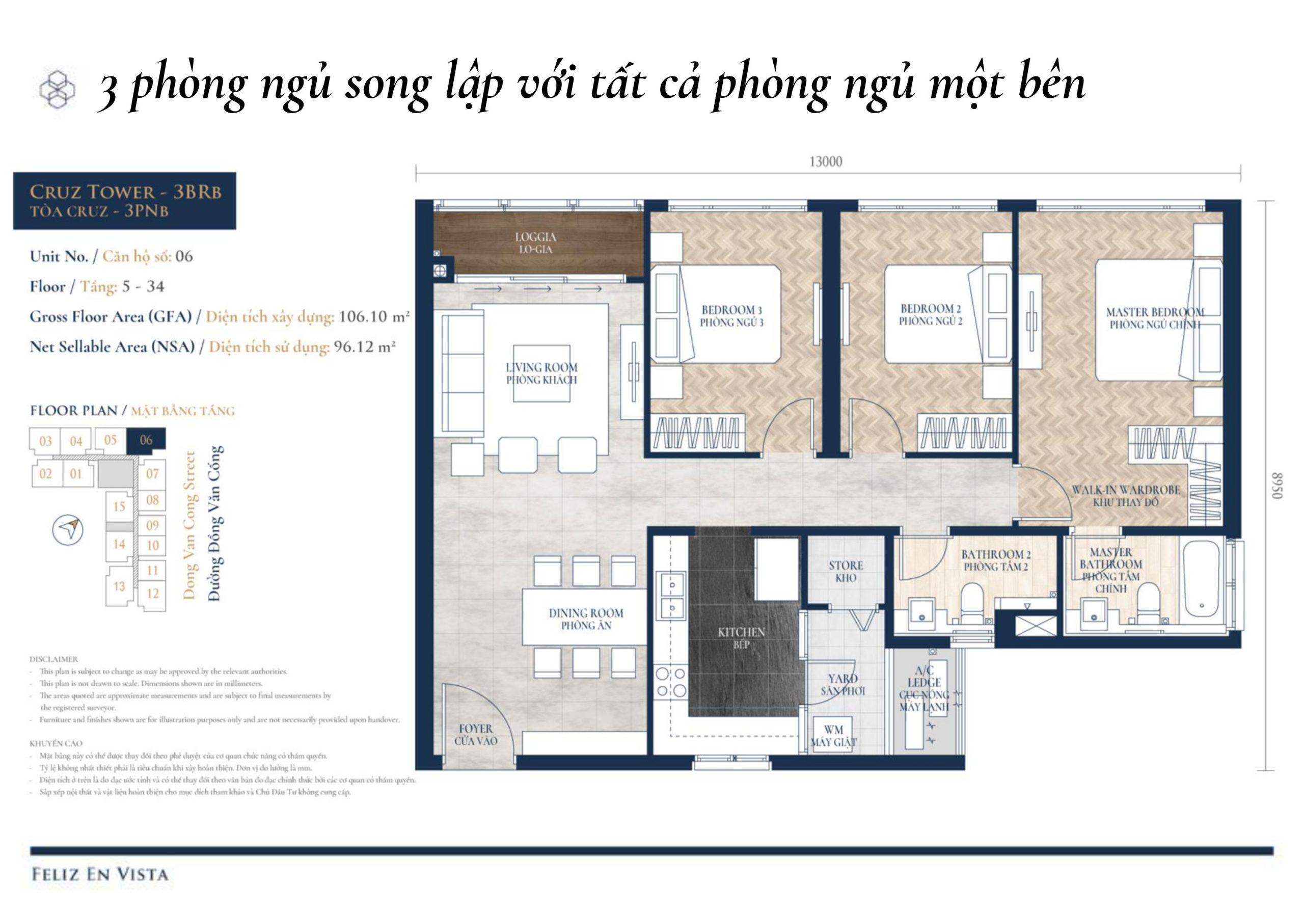 dự án căn hộ Feliz En Vista Quận 2