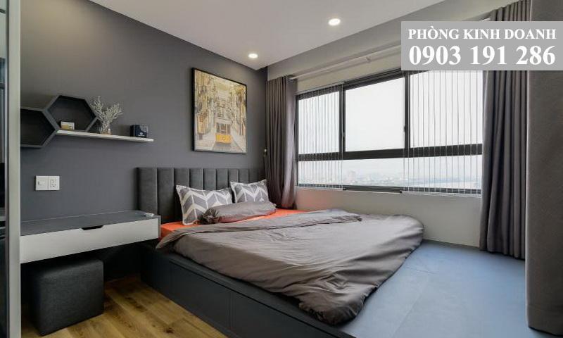 Wilton Tower cho thuê căn view sông tầng 18 block B nội thất đẹp 2 phòng ngủ
