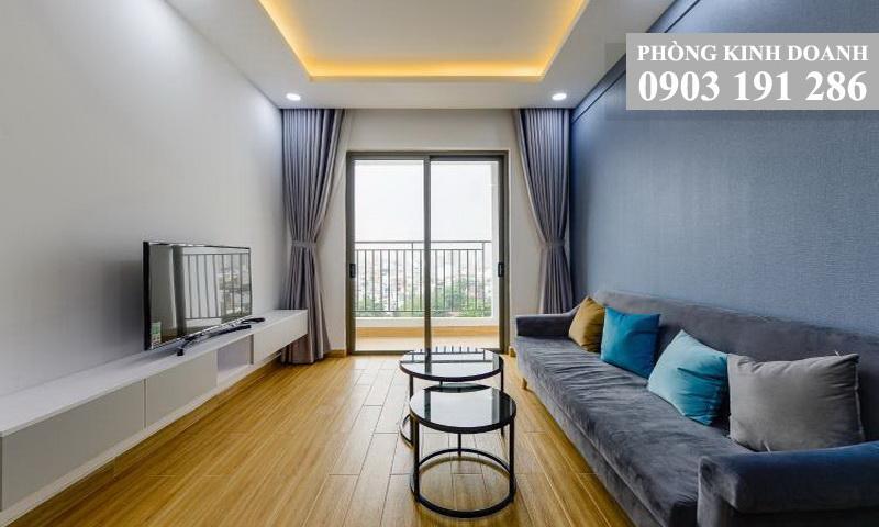 Cho thuê căn hộ Wilton Tower view thoáng tầng 8 toà A nhà đẹp 2 phòng ngủ