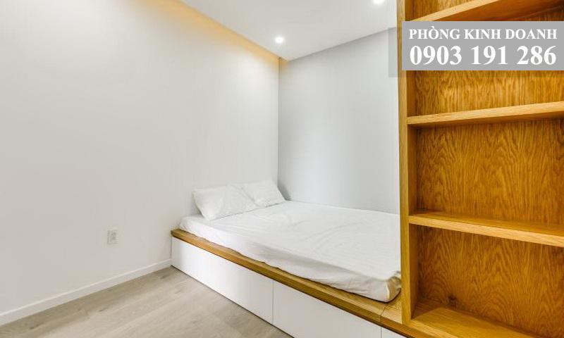 Cho thuê căn hộ Wilton Tower tầng 19 block A nội thất full 2 phòng ngủ thoáng