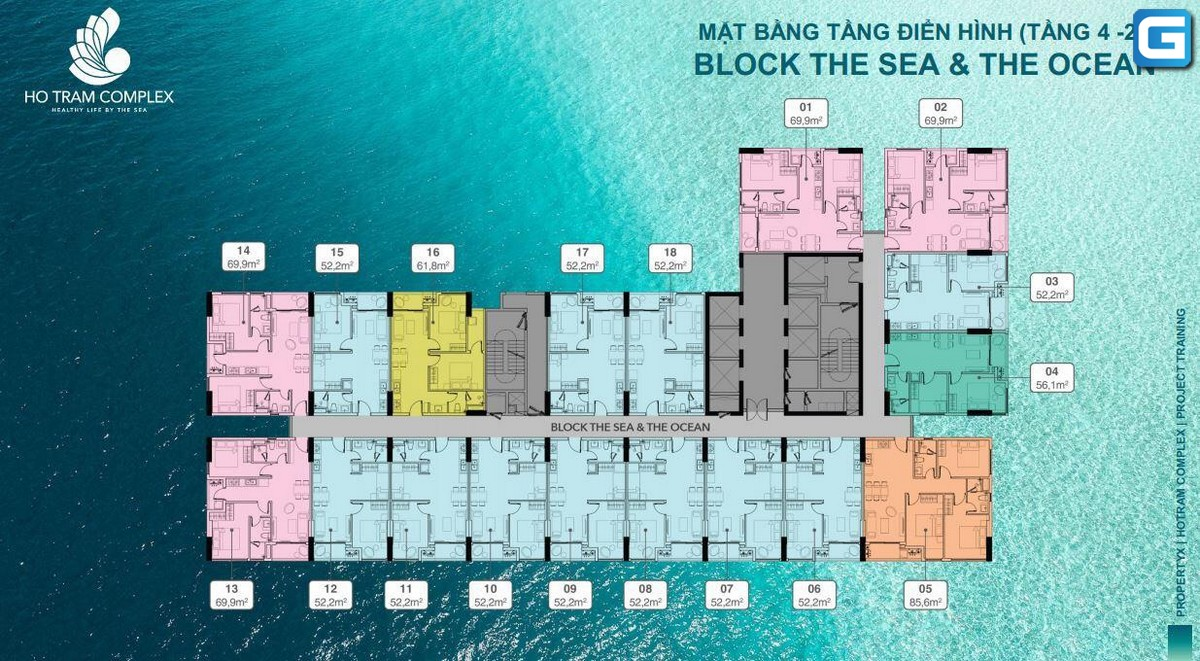 dự án căn hộ Hồ Tràm Complex