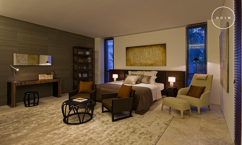 Biệt thự đẳng cấp cho thuê Holm 272 m2 4 phòng ngủ đủ nội thất xịn quận 2