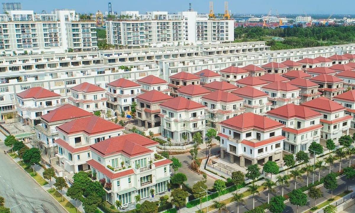 Biệt thự Sala Saroma quận 2 cho thuê 321 m2 4 phòng ngủ nội thất cơ bản