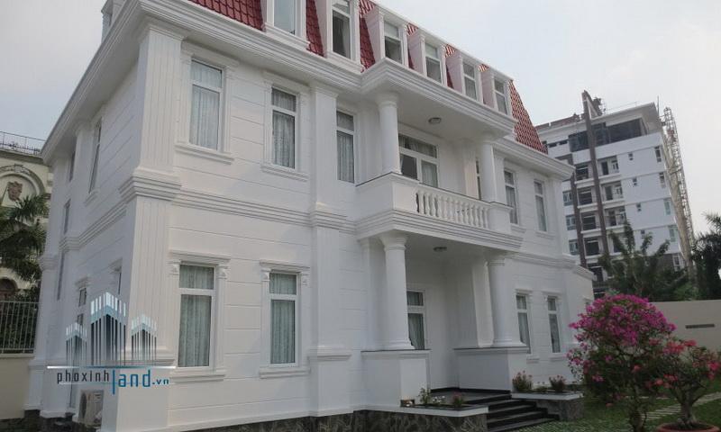 Biệt thự cho thuê Thảo Điền 700 m2 5 phòng ngủ nội thất cơ bản quận 2